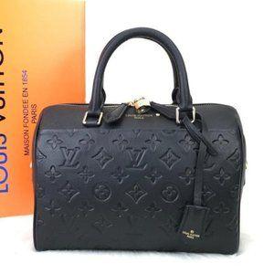 Louis Vuitton Bandouliere Empreinte Speedy 25